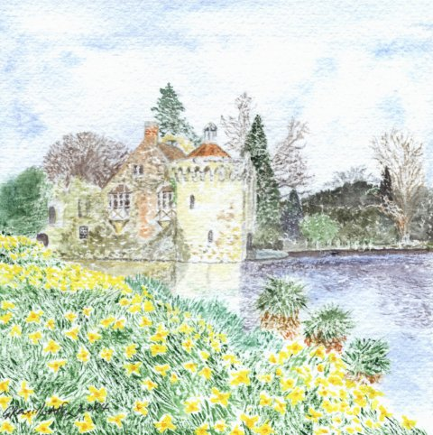 Spring at Scotney